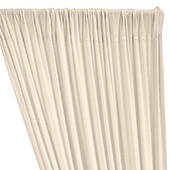 ITY Stretch Drape w/ Sewn Rod Pocket - Ivory