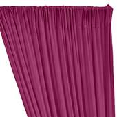 ITY Stretch Drape w/ Sewn Rod Pocket - Fuchsia