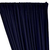 ITY Stretch Drape w/ Sewn Rod Pocket - Navy