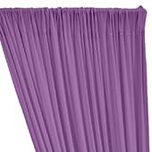 ITY Stretch Drape w/ Sewn Rod Pocket - Orchid