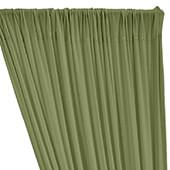 ITY Stretch Drape w/ Sewn Rod Pocket - Sage