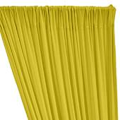 ITY Stretch Drape w/ Sewn Rod Pocket - Yellow