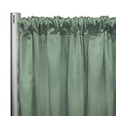 "*IFR* 60"" Wide Elite Taffeta Drape Panel by Eastern Mills w/ 4""  Sewn Rod Pocket - Celadon"