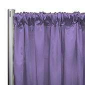 "*IFR* 60"" Wide Elite Taffeta Drape Panel by Eastern Mills w/ 4""  Sewn Rod Pocket - Dk. Lilac"