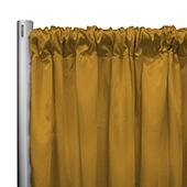 "*IFR* 60"" Wide Elite Taffeta Drape Panel by Eastern Mills w/ 4""  Sewn Rod Pocket - Gold Sunset"