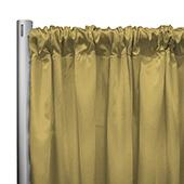 "*IFR* 60"" Wide Elite Taffeta Drape Panel by Eastern Mills w/ 4""  Sewn Rod Pocket - Lt. Yellow"
