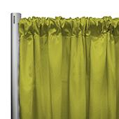 "*IFR* 60"" Wide Elite Taffeta Drape Panel by Eastern Mills w/ 4""  Sewn Rod Pocket - Lime"