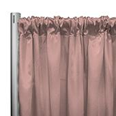 "*IFR* 60"" Wide Elite Taffeta Drape Panel by Eastern Mills w/ 4""  Sewn Rod Pocket - Mango"
