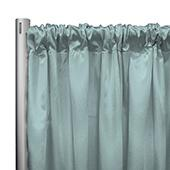 "*IFR* 60"" Wide Elite Taffeta Drape Panel by Eastern Mills w/ 4""  Sewn Rod Pocket - Mint"