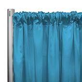 "*IFR* 60"" Wide Elite Taffeta Drape Panel by Eastern Mills w/ 4""  Sewn Rod Pocket - Pearl Blue"