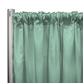 "*IFR* 60"" Wide Elite Taffeta Drape Panel by Eastern Mills w/ 4""  Sewn Rod Pocket - Pistachio"