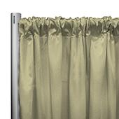 "*IFR* 60"" Wide Elite Taffeta Drape Panel by Eastern Mills w/ 4""  Sewn Rod Pocket - Skinner Yellow"