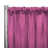 "*IFR* 60"" Wide Elite Taffeta Drape Panel by Eastern Mills w/ 4""  Sewn Rod Pocket - Sleeping Pink"