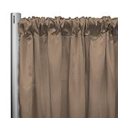 "*IFR* 60"" Wide Elite Taffeta Drape Panel by Eastern Mills w/ 4""  Sewn Rod Pocket - Bamboo"