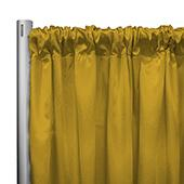 "*IFR* 60"" Wide Elite Taffeta Drape Panel by Eastern Mills w/ 4""  Sewn Rod Pocket - Daisey"