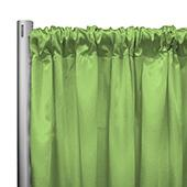"*IFR* 60"" Wide Elite Taffeta Drape Panel by Eastern Mills w/ 4""  Sewn Rod Pocket - Kami Apple"