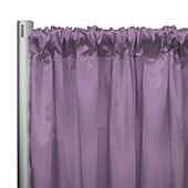 "*IFR* 60"" Wide Elite Taffeta Drape Panel by Eastern Mills w/ 4""  Sewn Rod Pocket - Lavender"