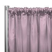 "*IFR* 60"" Wide Elite Taffeta Drape Panel by Eastern Mills w/ 4""  Sewn Rod Pocket - Pink"