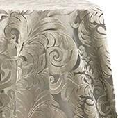 Juliette Lace Overlay by Eastern Mills - Silver - Many Size Options