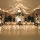 Starlight Lighting Kit  - 6 strands of Lights Recommended for 12 Panel Ceiling Draping Kit