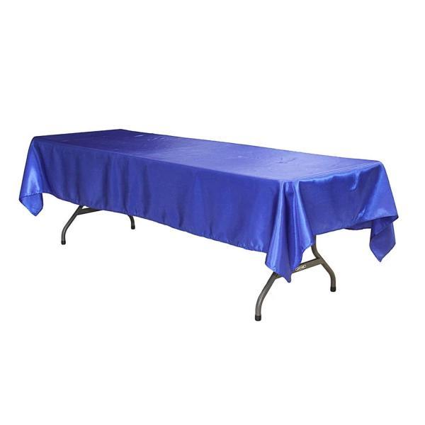EDD Sleek satin tablecloths 60x120 Royal blue