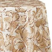 Vienna Sequin and Lace Overlay by Eastern Mills - Champagne - Many Size Options