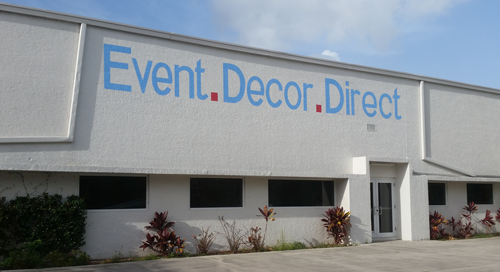 There is a reason why Event Décor Direct is the first choice of schools, colleges, hotels, banquet halls, convention centers, nightclubs, restaurants, fairs, trade shows, counties, cities, .
