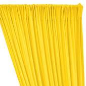 ITY Stretch Drape w/ Sewn Rod Pocket - Yellow