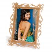 "Elegant Gold Baroque Frame - 4"" x 6"""