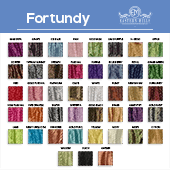 "Fortundy - 100% Polyester - By The Yard - 48-49"" Width"