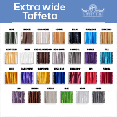 *FR* Extra Wide Taffeta by Eastern Mills by the Yard - 9 1/2 ft Wide - Choice of 28 Colors!