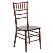 EnvyChair™ Elegant Wood Chiavari Chair - Fruit Wood