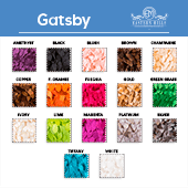 Gatsby - 100% Polyester - By The Yard - 53