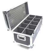 Protective Flight Case For Wireless Par575 LED Light / Cob Light / Par 36 Light / Cube Lights - 10 Piece