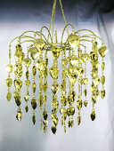 DecoStar™ Gold Teardrop Chandelier