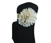 DecoStar™ Blush Flower Chair Band - Choose your Size!