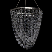 DecoStar™ Hexagon Chandelier W/ Clear Beads