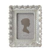 DecoStar™ Vintage Antique Ornate Silver Rectangle Frame - Medium - 9