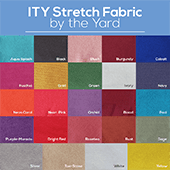 "ITY Stretch Fabric by the Yard - 60"" Wide"