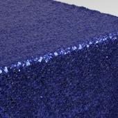 Sequin Table Runner by Eastern Mills - Blue