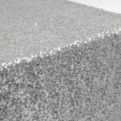 Sequin Table Runner by Eastern Mills - Silver