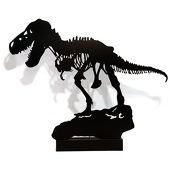 Jurassic Dino Silhouette