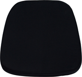 DecoStar™ Soft Black Fabric Cushion for Resin Chiavari EnvyChair™