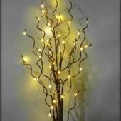 Manzanita LED Lighted Branch - Battery - Warm White