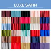 """*FR* LUXE Satin Drape by the Yard - Eastern Mills (59"""" Wide)"""