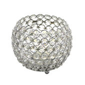 """DecoStar™ Crystal Candle Globe / Sphere - Large - 6"""""""
