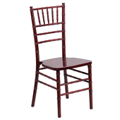EnvyChair™ Elegant Wood Chiavari Chair - Mahogany