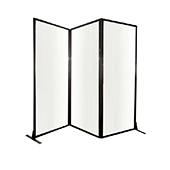 Medi-Wall Quick-Wall (Folding) Portable Partition - Choose Your Size -  Opal