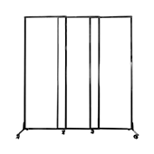 Medi-Wall Quick-Wall (Sliding) Portable Partition - Choose Your Size - Opal