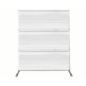 Medi-Wall Portable Divider - Choose Your Size - Fluted